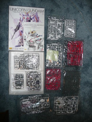 MG Unicorn Unassembled