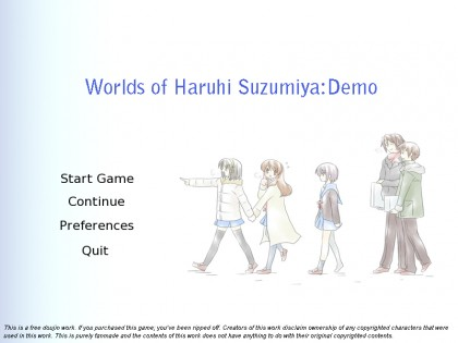 worlds-of-haruhi-suzumiya-demo-title-screen