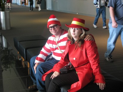 We found Waldo AND Carmen San Diego