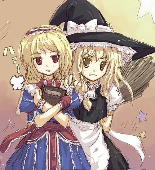 Alice and Marisa