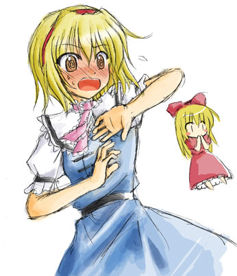 Alice Embarrassed