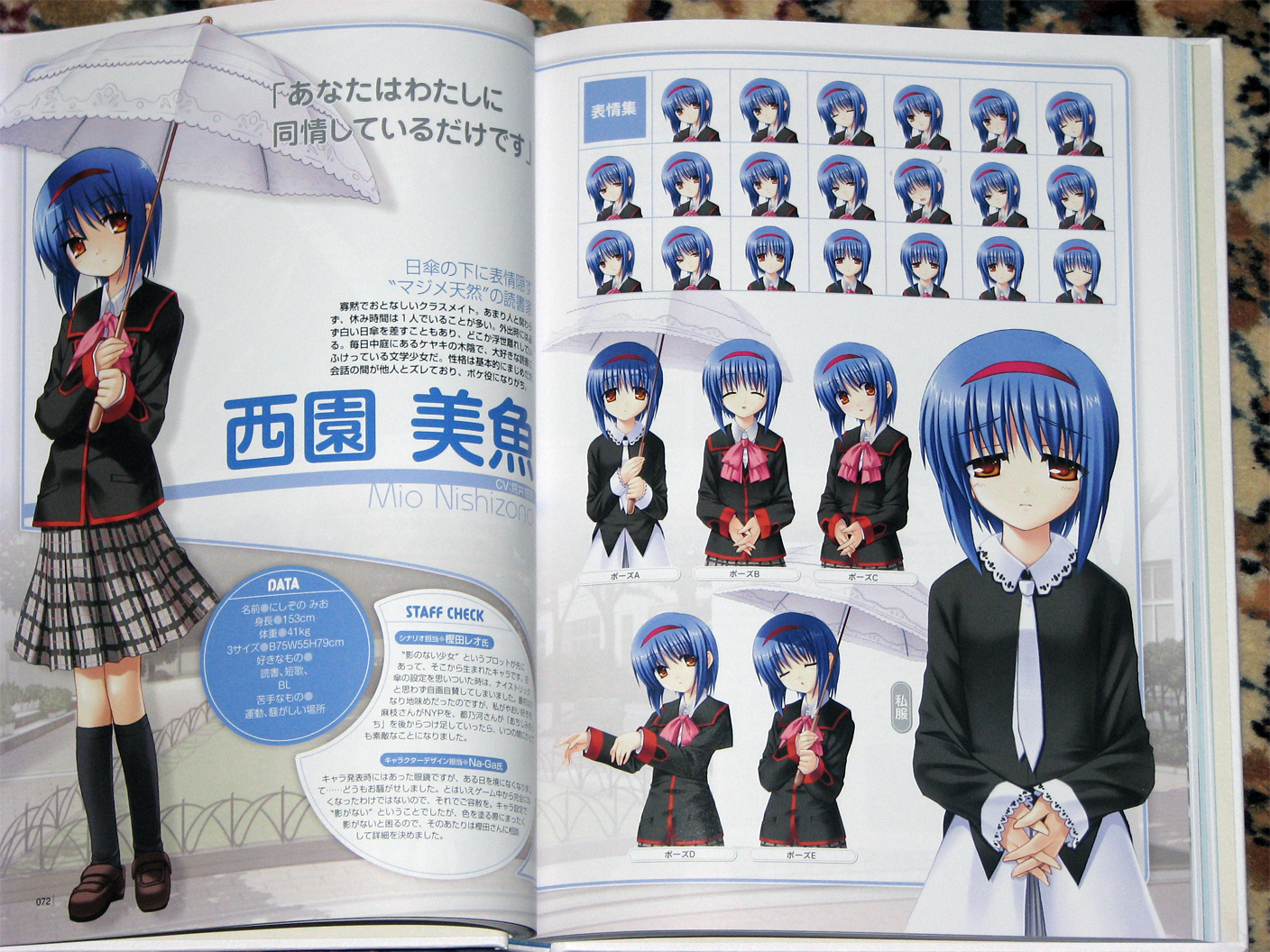 Character Collection Mio