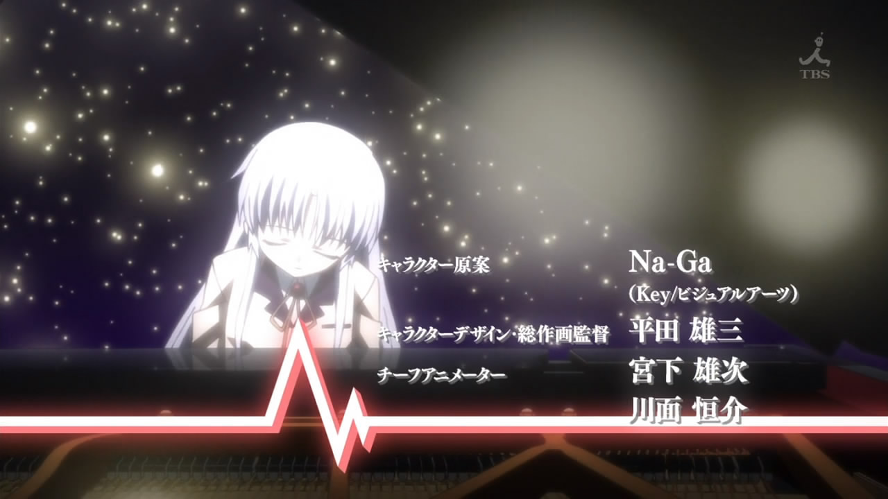 Angel Beats Op spring 2010 impressions: exclamation mark overrun